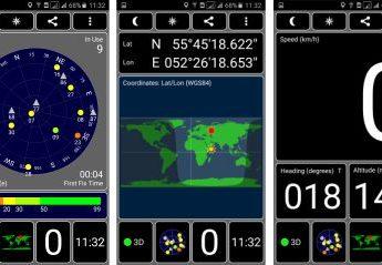 Программа GPS Test