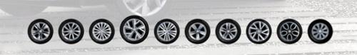 колеса, 10-дюймов, литые диски, Skoda Kodiaq