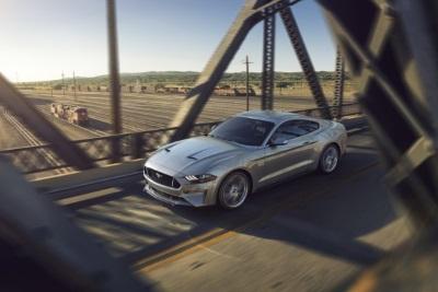 Ford Mustang 2017, гибридный привод, Детройт 2017