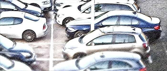 парковка, автомобиль, дорога, дтп