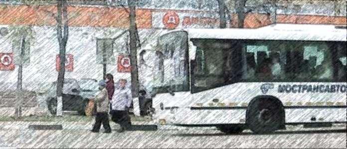 пешеход, автобус, нарушение