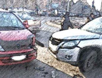 поворот, педаль тормоза, авария