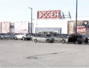 парковка, парковка у магазина, тесная парковка