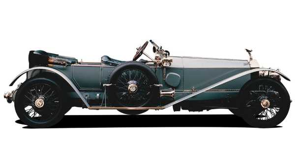 Rolls-Royce Silver Ghost, классические автомобили, престиж