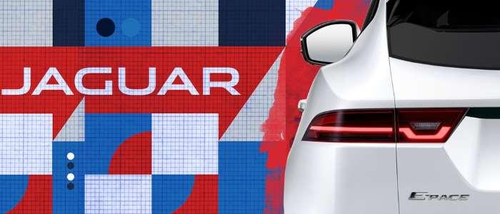 E-Pace, стоп-сигналы, тизер Jaguar