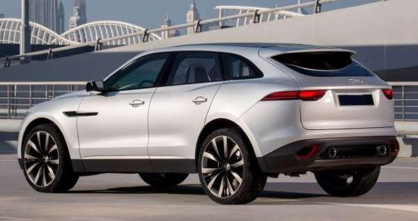 Jaguar E-Pace, внедорожный, полный привод
