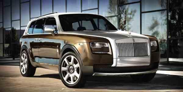 концепт-кар, Rolls-Royce, Project Cullinan