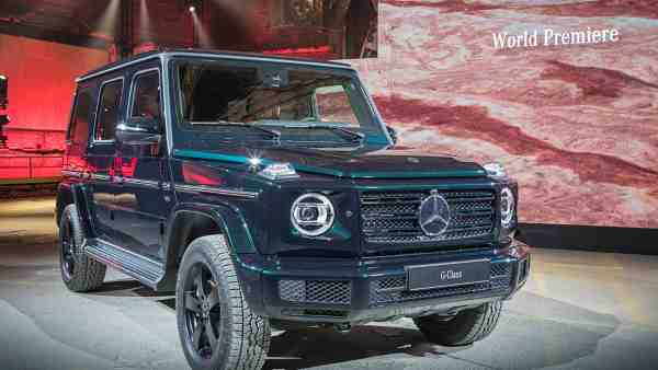 Mercedes-Benz G-classe, новый Мерседес, Детройтский автосалон