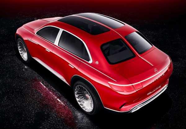 гребень, Vision Mercedes-Maybach
