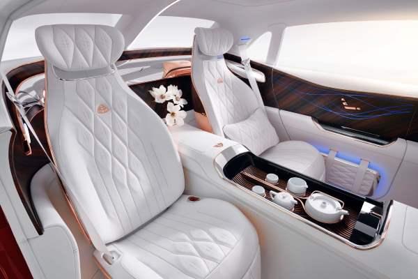 сиденья, салон Vision Mercedes-Maybach Ultimate Luxury