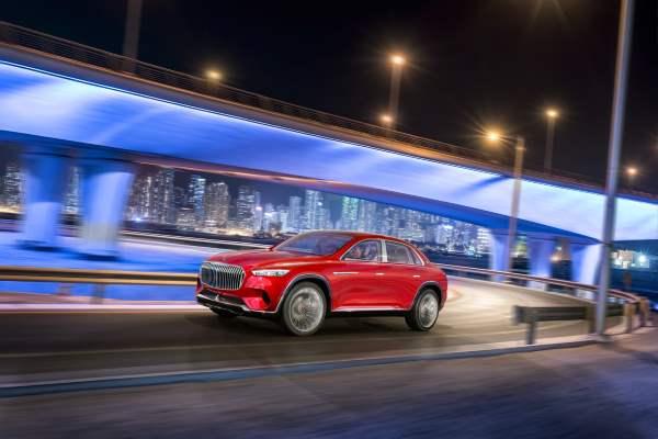 Электромобиль, кроссовер, Vision Mercedes-Maybach Ultimate Luxury