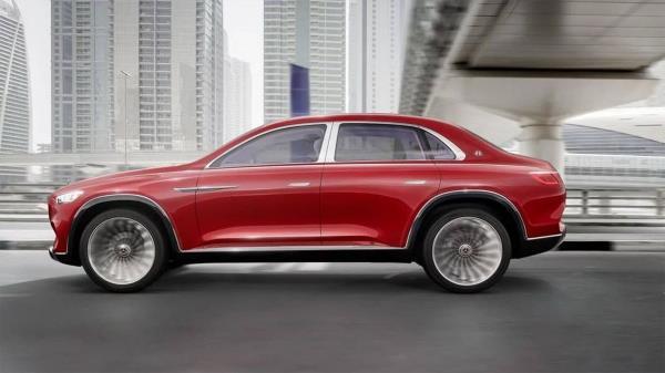 электродвигатели, Vision Mercedes-Maybach Ultimate Luxury, мотор-колёса