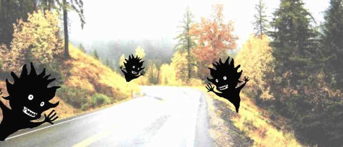 опасные дороги, ловушки на дороге, дорожные случаи