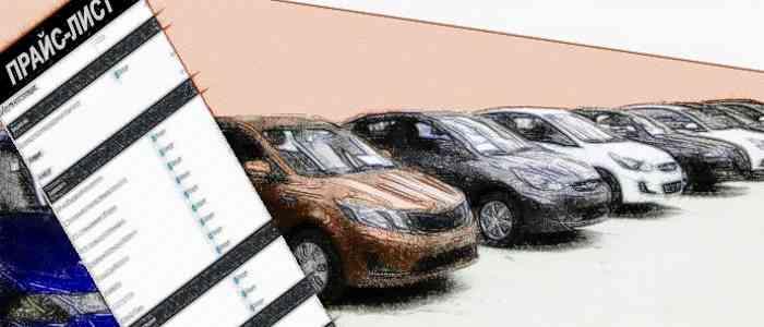 автосалон, прайс-лист автомобиля, автомобильные термины