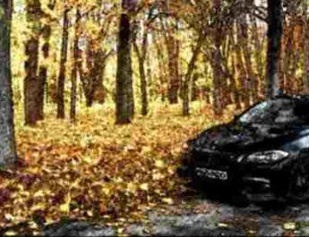 автомобиль осенью, осенняя подготовка автомобиля, осень автомобиль, автомобиль осень