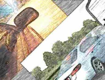 скорость, скорость автомобиля, дистанция, дистанция между машинами
