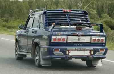 колхозный тюнинг, тюнинг, переделка автомобиля