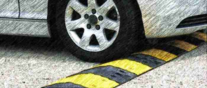 неровность на дороге, полицейский лежачий, неровность искусственная