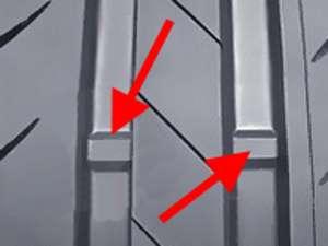 глубина протектора, индикатор глубины протектора, протектор глубина